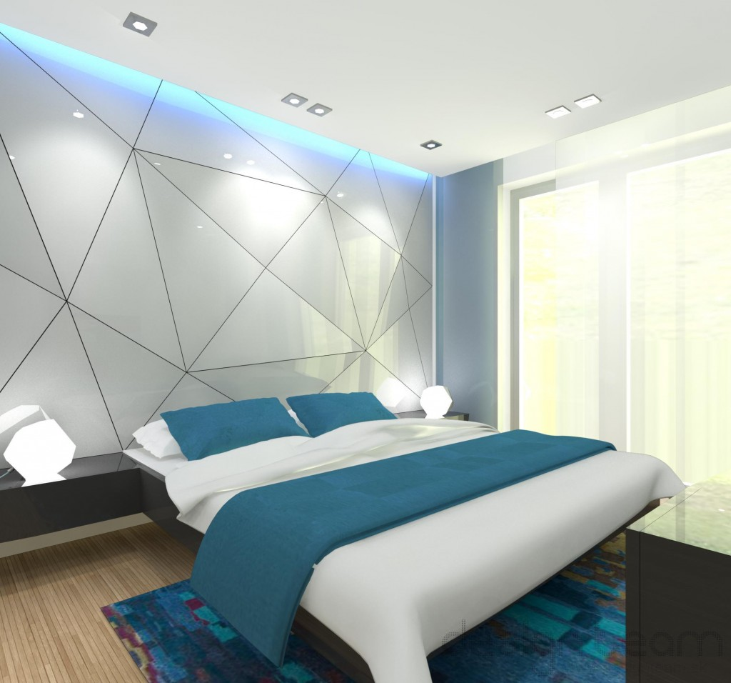 Náladovým osvetlením ľahko zmeníte atmosféru spálne.